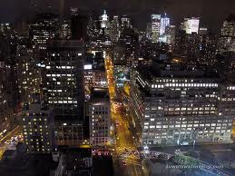 soho photo aerial at night nyc
