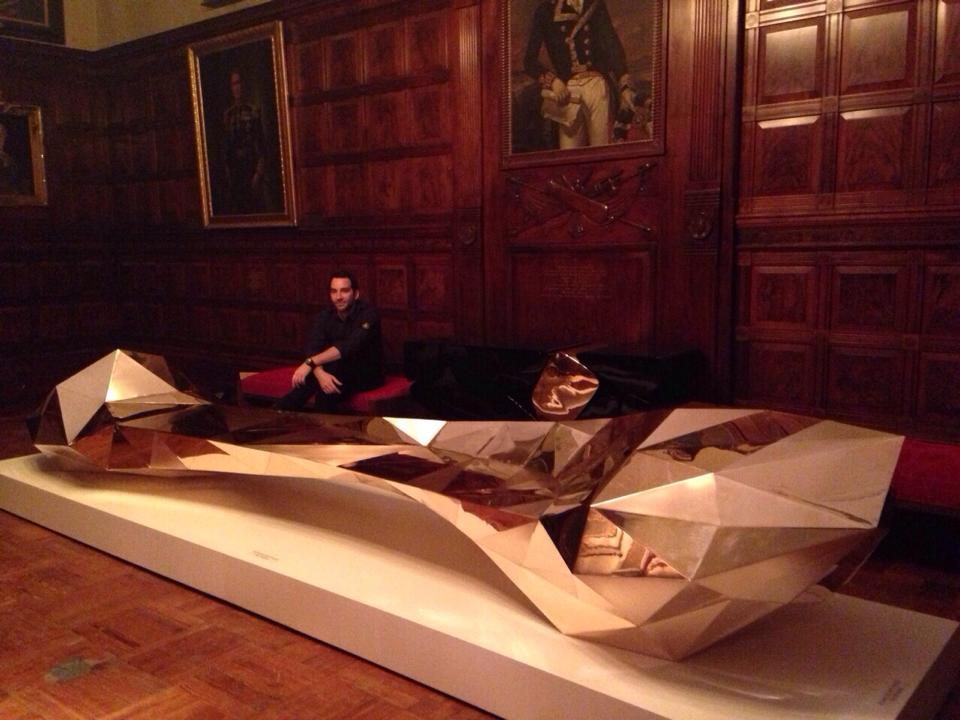 Park Avenue Armory Opening With Designer Barlas Baylar Of Hudson Furniture  Inc NOV 13 17th With W Magazine [#gothampr]