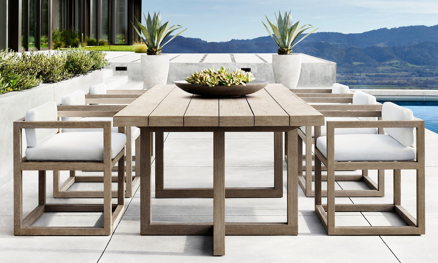 Barlas baylar debuts outdoor furniture line for for Who manufactures restoration hardware furniture
